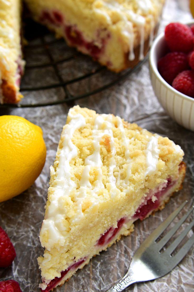 Lemon Raspberry Coffee Cake | Lemon Tree Dwelling