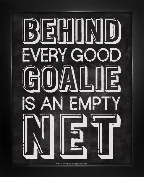 Good Hockey Quotes: Best 25+ Goalie Quotes Ideas On Pinterest