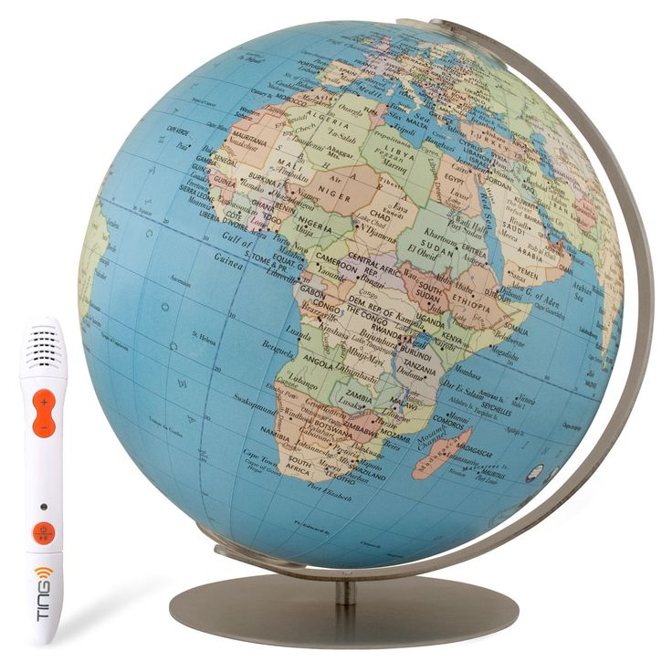 Expedition Interactive Globe