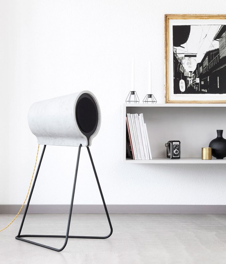 estragon uses composite cement to frame vonschloo home speakers http://ift.tt/1Wu4U4E