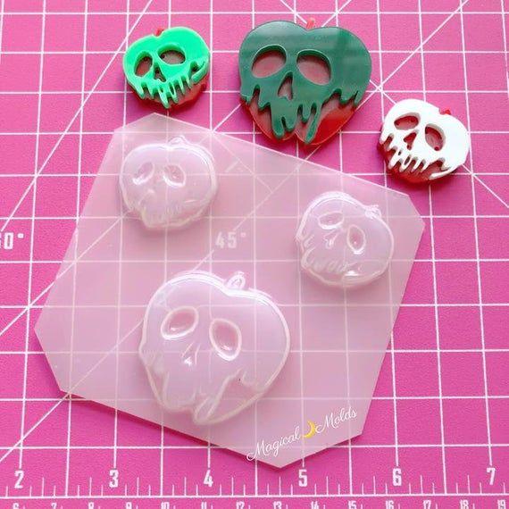 Mouse Ears Flexible Plastic Resin Mold~ 4 pc