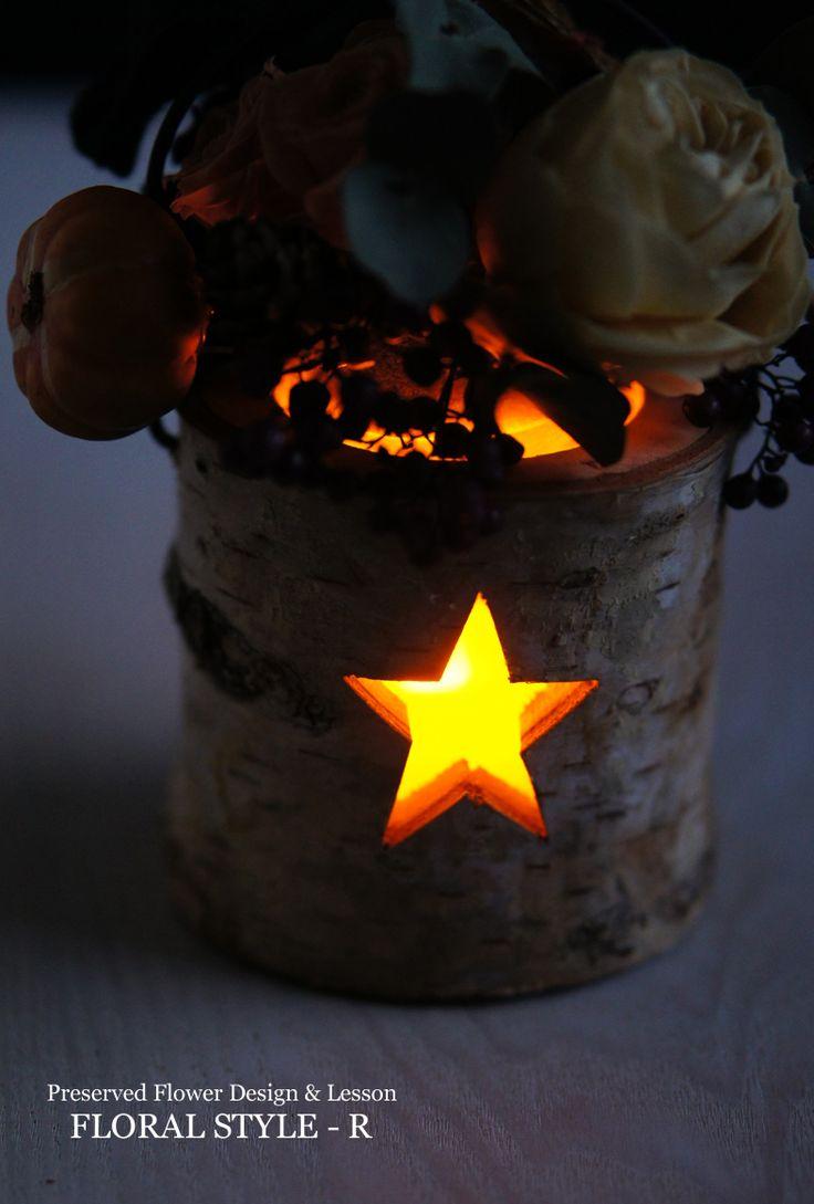 < Halloween Candle >