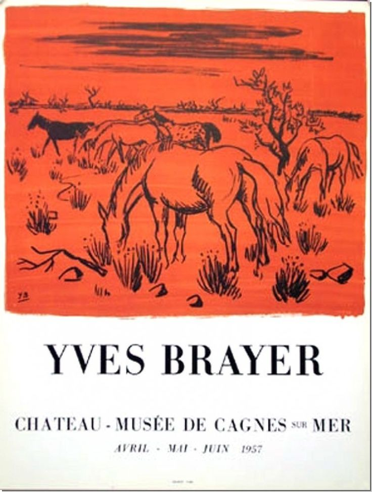Yves brayer mus e de cagnes 1957 ebay wohnen for Kinderpool obi