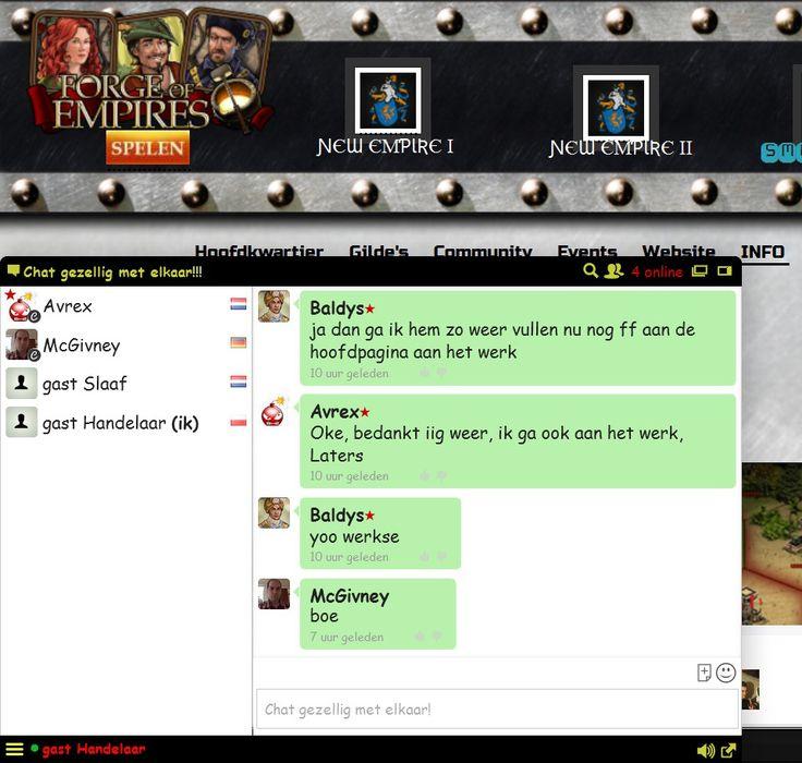 Online gaming community.