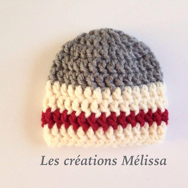 Tuque bûcheron version mini !!! Oui oui cette magnifique tuque est disponible pour bébé, enfant, homme et femme ! C'est le cadeau tendance parfait !