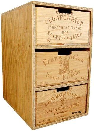 Fresh Das Design M bel aus gebrauchten Weinkisten grand cube ist ein neuartiger Schubladen Korpus aus gebrauchten Weinkisten Das Recycling Design Objekt