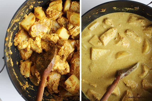 Kari Ayam Process - Chicken Curry Malaysian Style