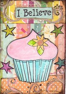 Paper & Gluestix: Cupcake ART..ATCs