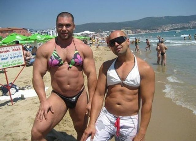 WTF are You Doing On the Beach Dressed Up Like That funny fail wtf lol humor