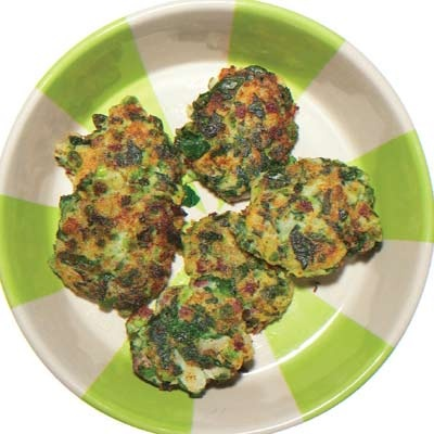 St. Patty Day Potato Cakes for Pups!