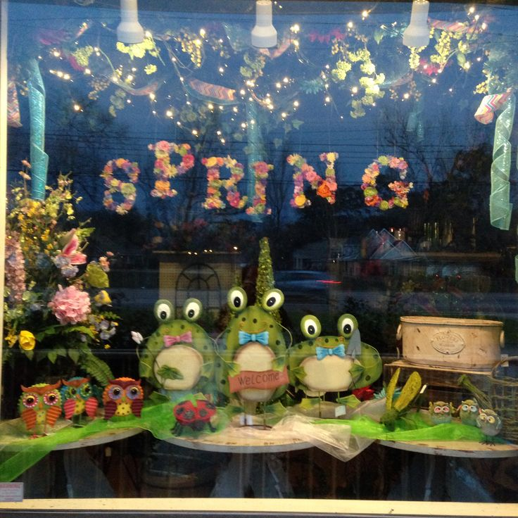 Easter Display Ideas: 29 Best Images About Window Display Ideas On Pinterest