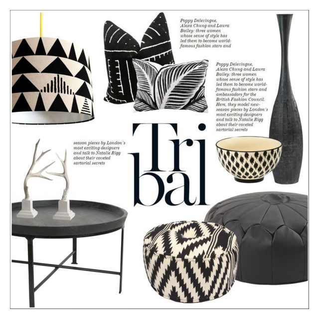 Tribal Decor By Sebi86 Liked On Polyvore Featuring Interior Interiors Interior