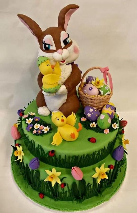 Easter Bunny - Cake by Irina-Adriana