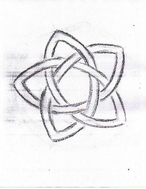 Waldorf ~ 4th grade ~ Form Drawing ~ Pentagram Knot