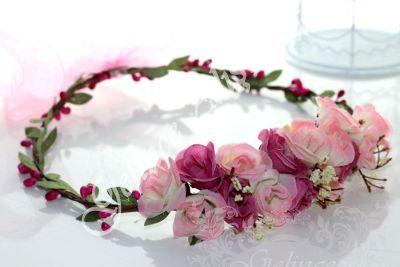 http://www.gelincealisveris.com/K64,gelin-taci.htm pembe çiçekli gelin tacı, çiçekli gelin tacı, gelin tacı, gelin aksesuarları, düğüne hazırlık