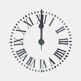 esfera reloj, dibujo