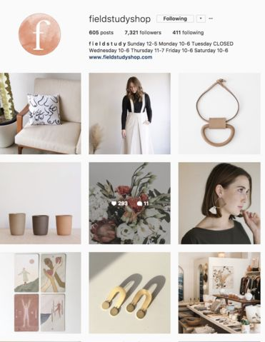 Fieldstudy Instagram from the Picot Collective Blog