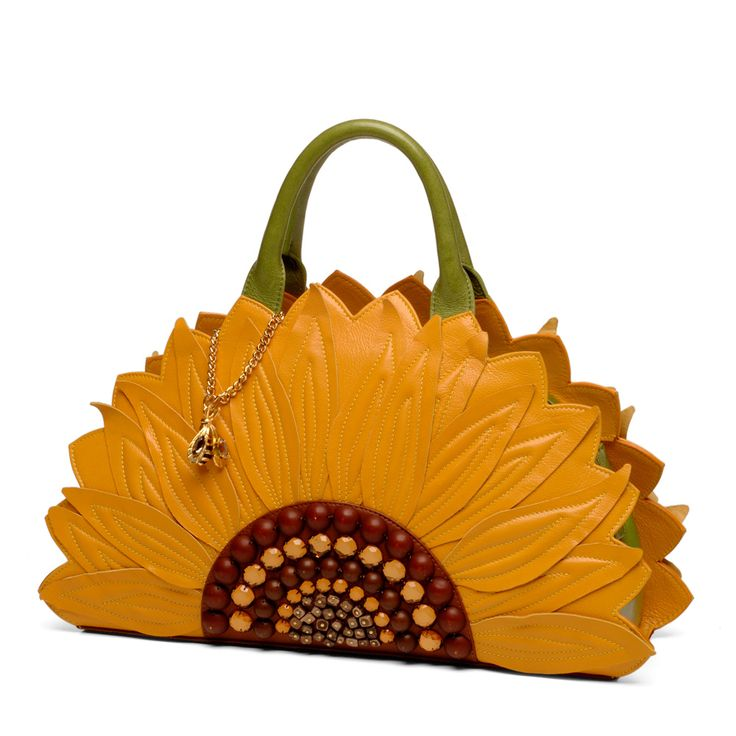 Braccialini - Temi sunflower unique handbag