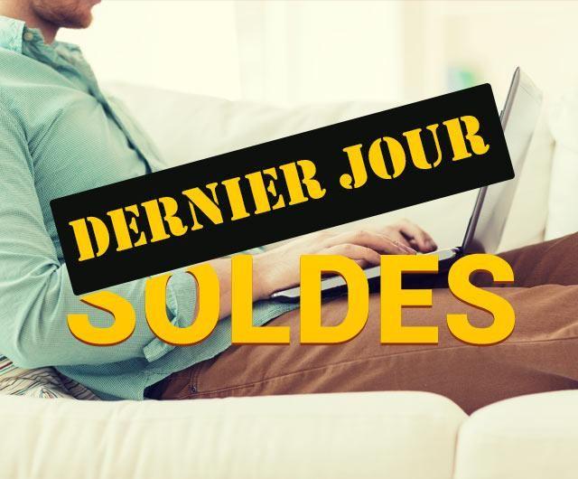 #SOLDES C'est le dernier jour pour en profiter !!   #HighTech #Mode #Sport jusqu'à -80% sur http://www.vente-du-diable.com?utm_medium=Social&utm_source=Pinterest_High_tech&utm_campaign=dernier_jour_soldes&utm_term=dernier_jour_soldes&origine=PINTEREST&pa=pinterest@vente-du-diable.com