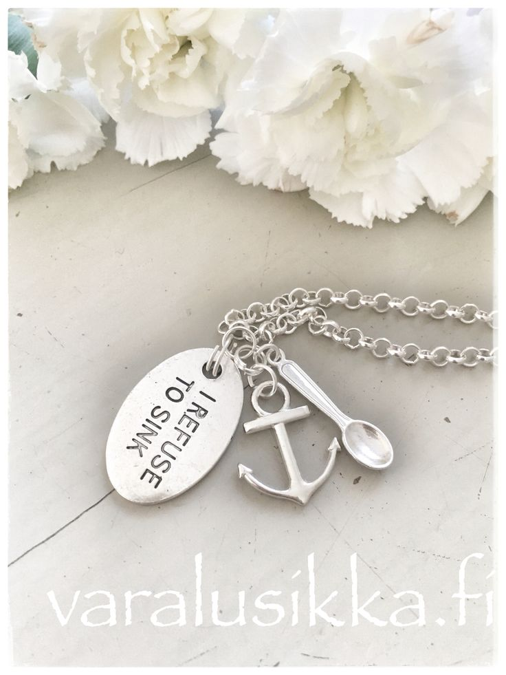 Beautiful hand made spoon necklace to give courage and hope.