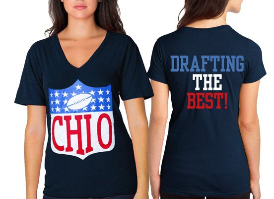 "Sorority Rush / Fraternity Recruitment ""greek draft"" Design.  Available for all organizations!  #sorority #rush #recruitment #Greek"