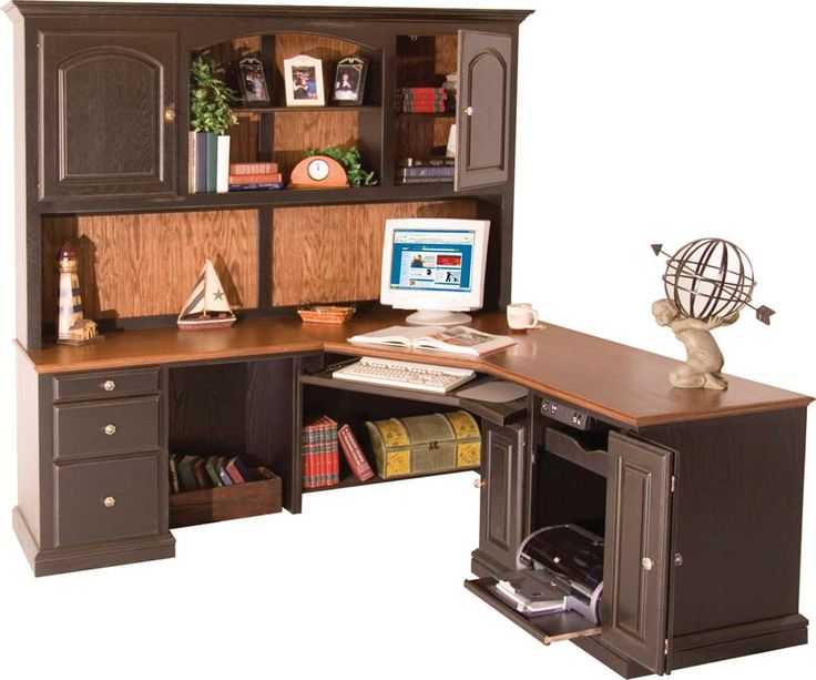 corner l shaped office desk with hutch furniture sets for living room check more at