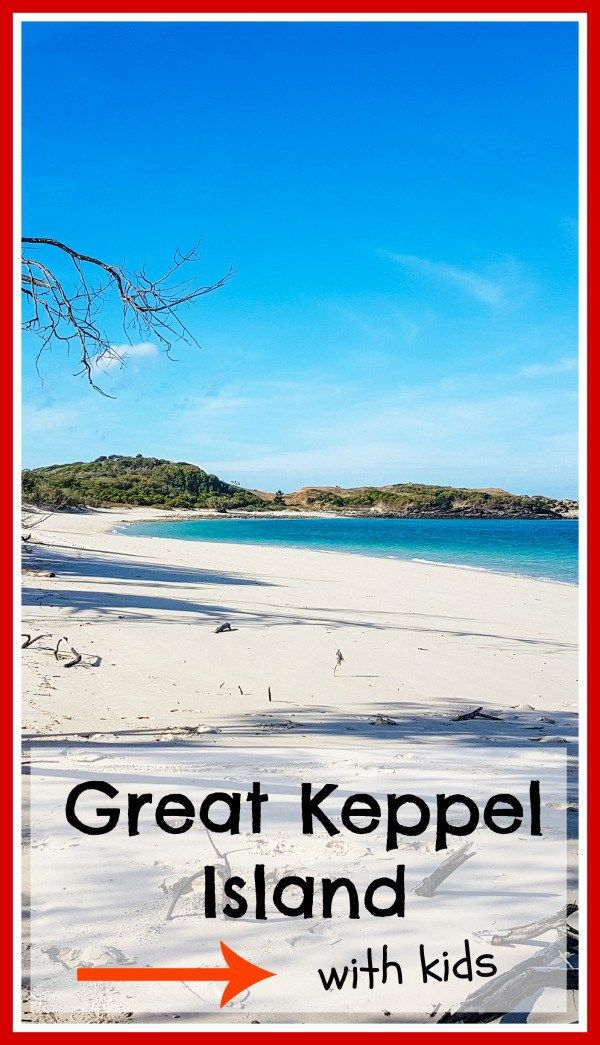 Monkey Beach, Great Keppel Island.  Thinking of taking the kids to Great Keppel Island for a holiday?  Click on the image above for more information on Great Keppel Island with kids.
