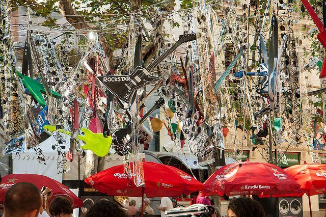 Gracia Street Festival in August @ Gracia, Barcelona, Spain
