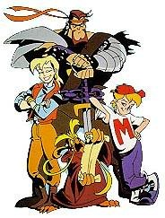 Mighty Max Cartoon, ok, well this is 90's but still nostalgic of my childhood in the 80's.