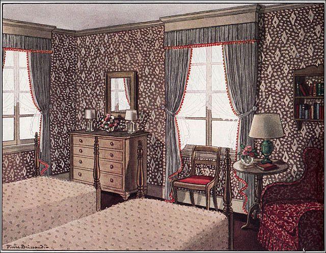 Photo Retro BedroomsVintage InteriorsHouse