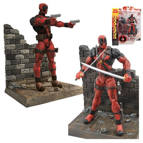 DEAL OF THE DAY Marvel Select Deadpool Action Figure: Mercenary for hire! The Merc with a Mouth! Super-assassin Deadpool Action Figure! TO BUY CLICK ON LINK BELOW http://tomatovisiontv.wix.com/tomatovision2#!action-figure/c1t9c