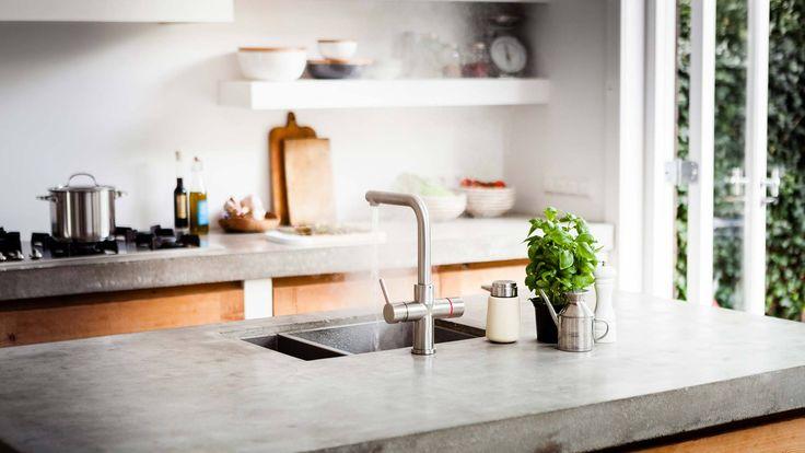 Floww alles in één kraan - Product in beeld - Startpagina voor keuken ideeën | UW-keuken.nl