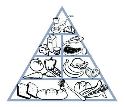 Mejores 9 im genes de pir mide alimenticia en pinterest alimentos actividades y alimentacion - Piramide alimenticia para ninos para colorear ...