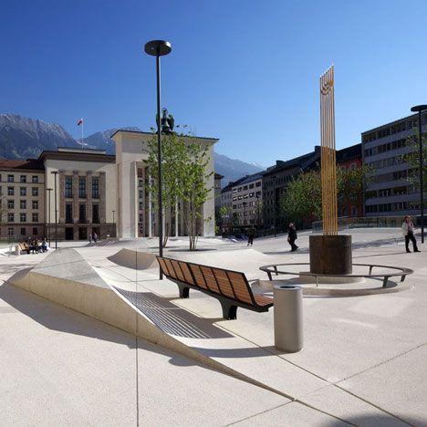 Landhausplatz by LAAC Architekten  and Stiefel Kramer Architecture