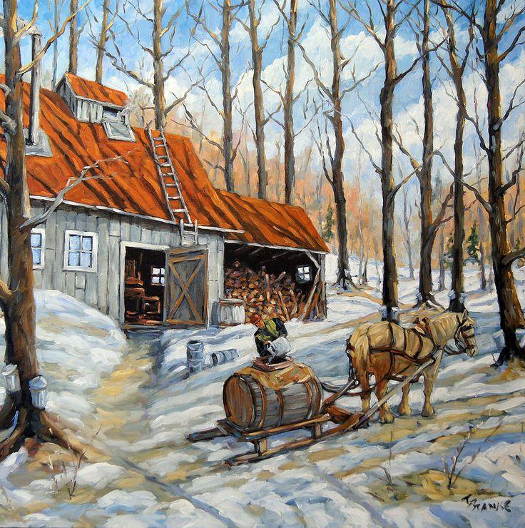 Vintage Sugar Shack By Prankearts Painting