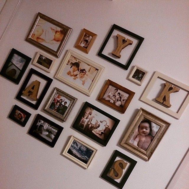 ウェディング小物の定番*可愛い『イニシャルオブジェ』を手作りしよう♩にて紹介している画像