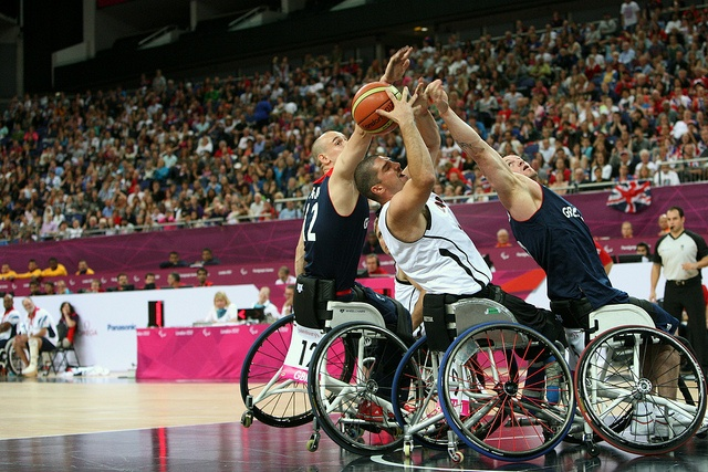 Taken at the London 2012 Paralympics Canada and Great Britain by bensmithuk, via Flickr