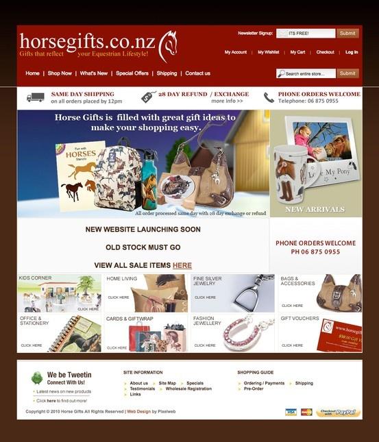 Equine Magento website
