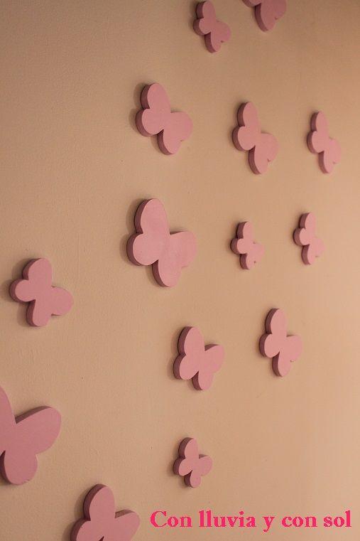 Decoraci n infantil personalizada y letras decorativas - Letras decorativas pared ...