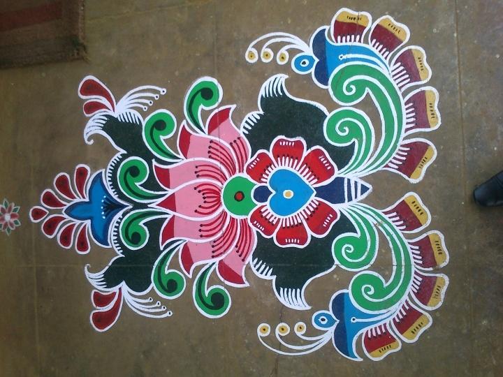 pretty rangoli design
