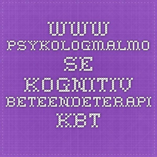 """http://www.psykologmalmo.se/kognitiv-beteendeterapi-kbt/  Kognitiv beteendeterapi - KBT . Få tips kring KBT, hur man söker och finne KBT-kontakt kopplat till högkostnadsskydd i Malmöregionen samt listning för """"KBT Malmö 1177"""" och andra sökfraser för att finna rätt kontakt för dig."""