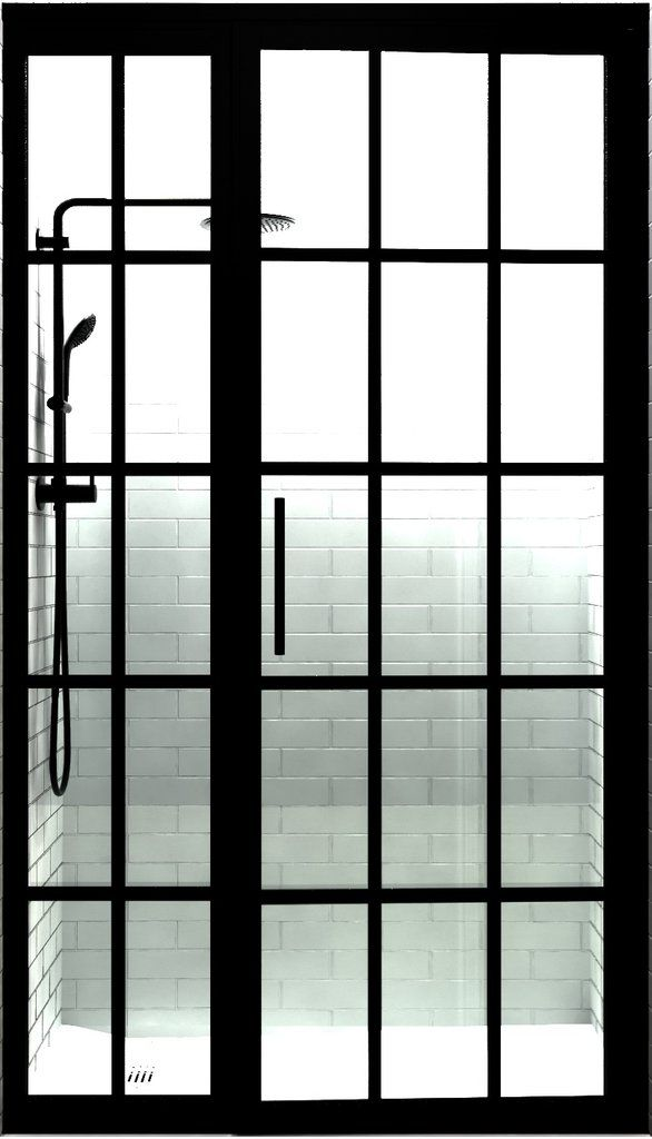 A Crittall Style Shower Door Such As This Is Guaranteed To Add A Contemporary Feel To Any Bathroom Bath Shower Doors Top Bathroom Design Primitive Bathrooms