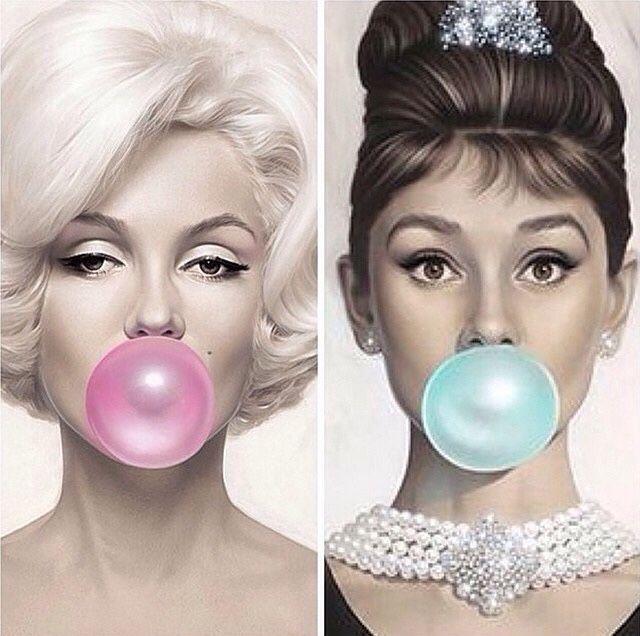 Marilyn Monroe And Audrey Hepburn