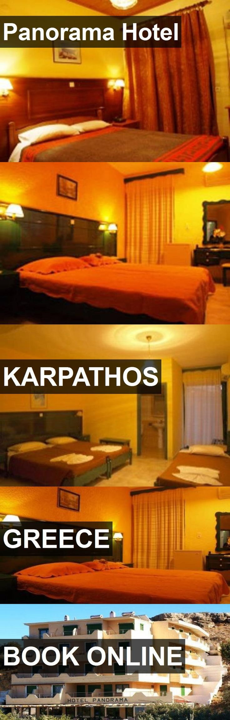 Panorama Hotel in Karpathos, Greece. For more information, photos, reviews and best prices please follow the link. #Greece #Karpathos #travel #vacation #hotel
