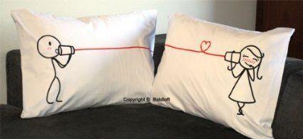 Couple Pillowcases by BoldLoft