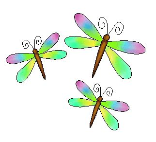 15 best clip art images on pinterest flower clips flower hair rh pinterest com Dragonfly Clip Art Black and White Dragonfly Coloring Pages