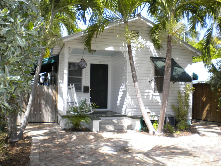 Conch House in Key West...also known as a cigar makers cottage. could live here... no probs