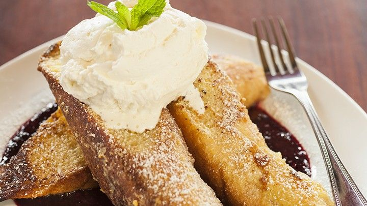 Dr. Junger's French Toast with Vanilla Cream | The Dr. Oz Show
