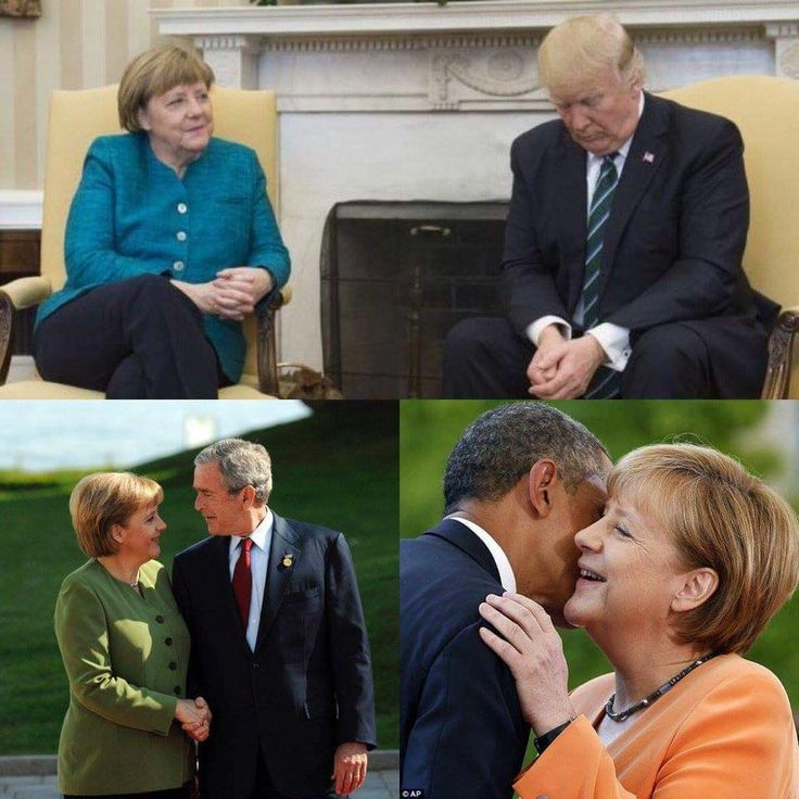 These three photos reveal all you need to know about the socially incompetent narcissist we've got representing us. HELP!!!