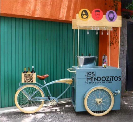 Resultado de imagen para bike food truck